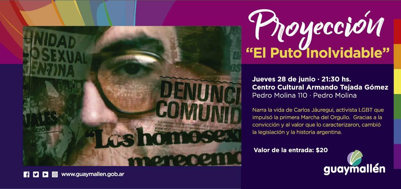 PLACA CINE LGBT 28 de junio