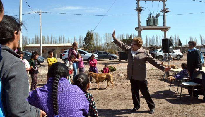 Inauguración de sala de lectura- Barrio Las Chacras (14)