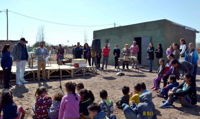 Inauguración de sala de lectura- Barrio Las Chacras (6)