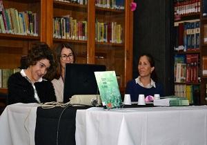 Presentación del libro - Soy Ana Clara - Almafuerte (1) Plaquita