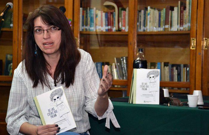 Presentaci_n del Libro DE LAS COSAN QUE PASAN - Biblioteca Almafuerte (4)