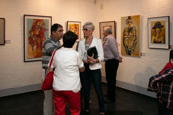 El maestro y sus amigos - Salas de Arte Libertad (1)