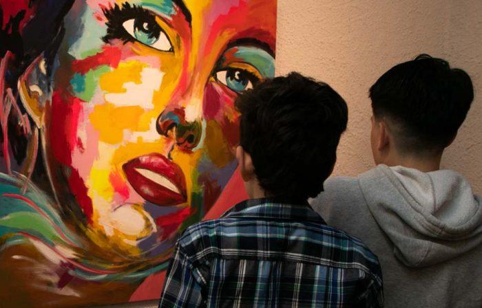 El maestro y sus amigos - Salas de Arte Libertad (2)