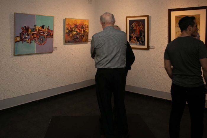 El maestro y sus amigos - Salas de Arte Libertad (3)