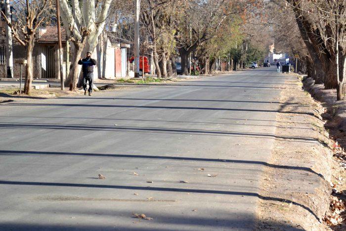Asfalto en calle Lisandro de la Torre (2)