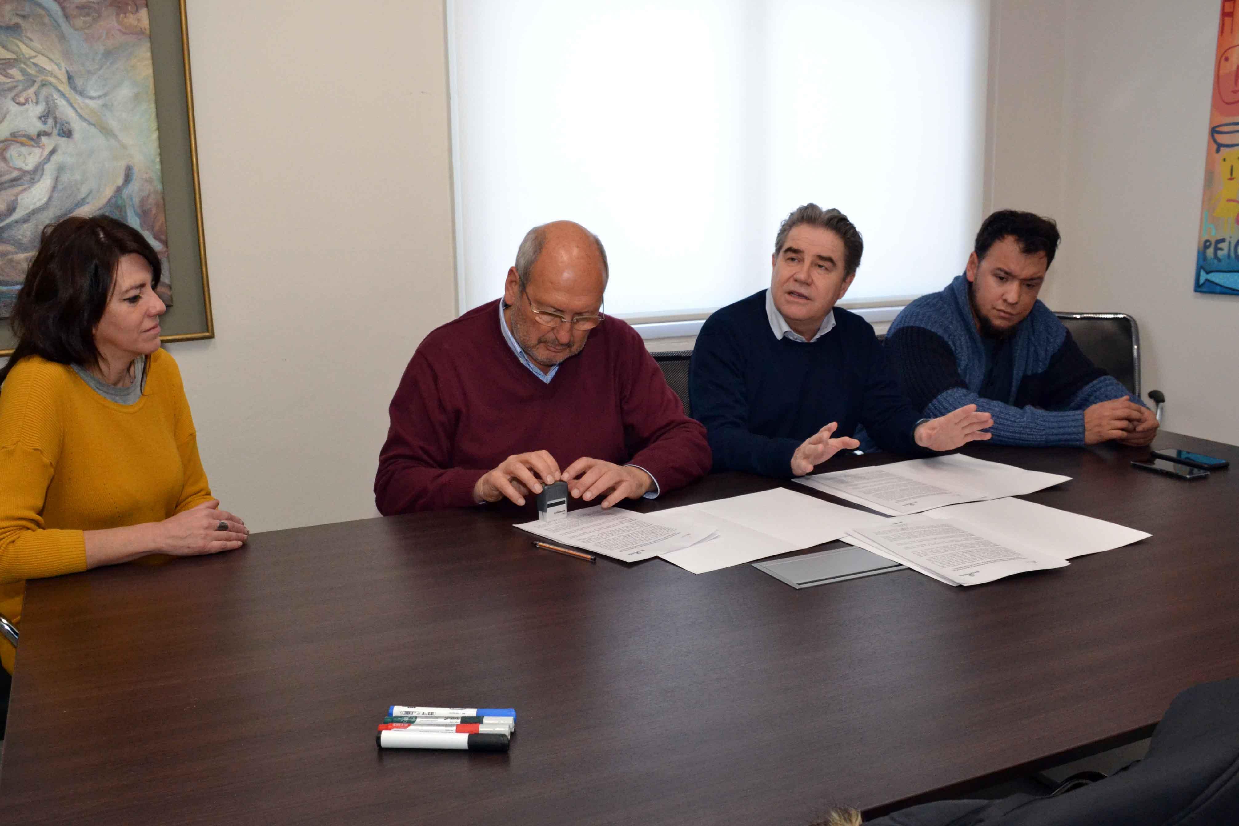 Firma de convenio Municipalidad de Guaymallén con Biblioteca del Congreso de la Nación (4)