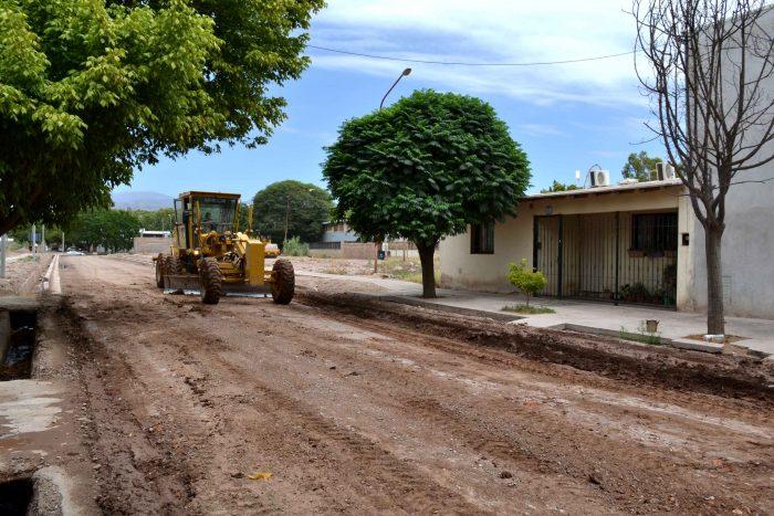 Obra de asfalto - calle José Hernández (2)