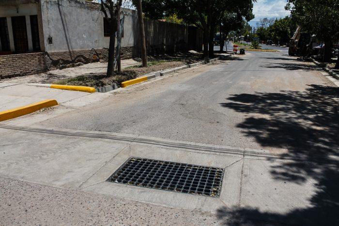 Obra de drenajes - calle Martínez de Rosas (1)