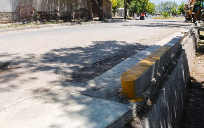 Obra de drenajes - calle Martínez de Rosas (3)