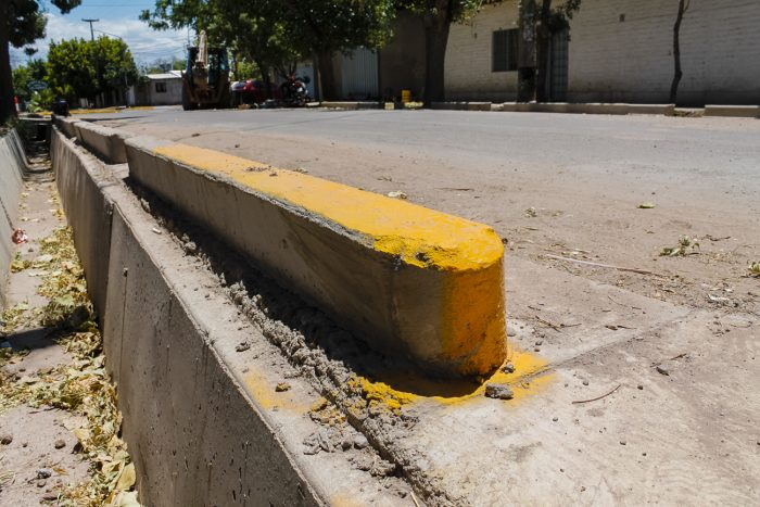 Obra de drenajes - calle Martínez de Rosas (4)