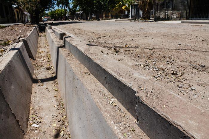 Obra de drenajes - calle Martínez de Rosas (5)