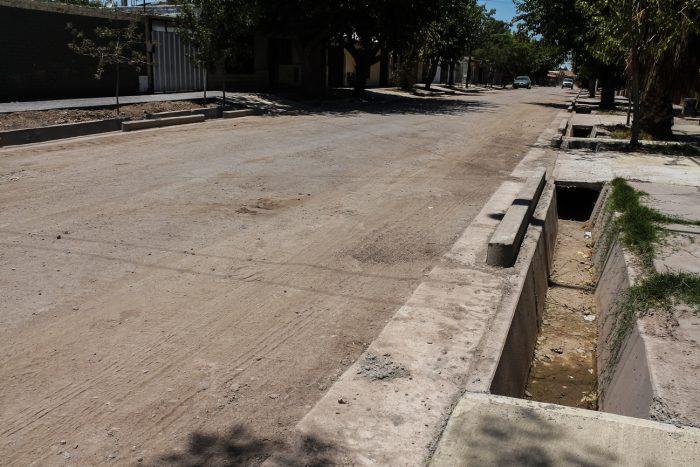 Obra de drenajes - calle Martínez de Rosas (6)