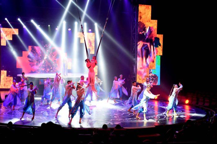 Reinas distritales en el Circo de Anima (2)