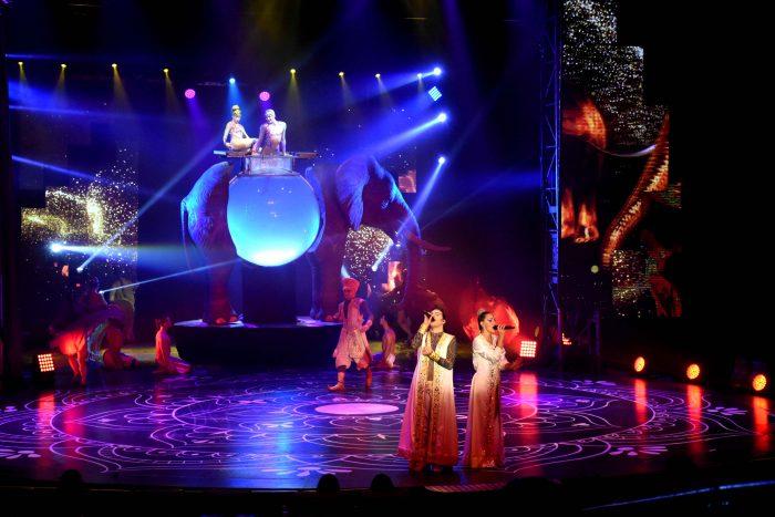 Reinas distritales en el Circo de Anima (27)