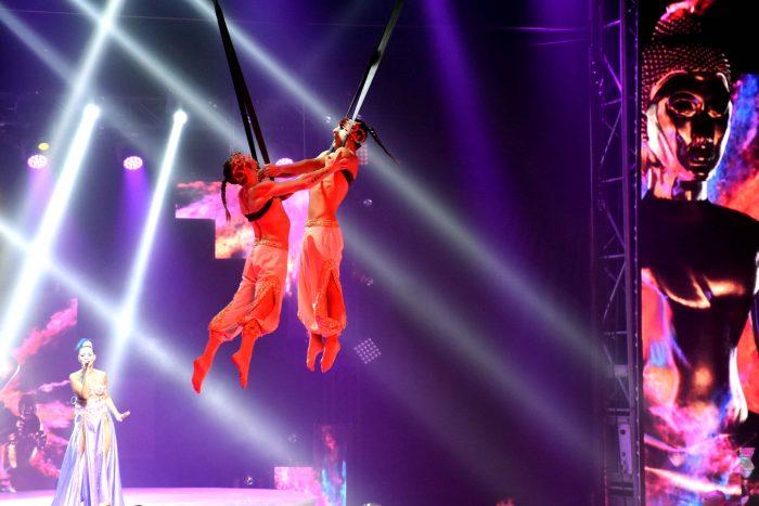 Reinas distritales en el Circo de Anima (3)