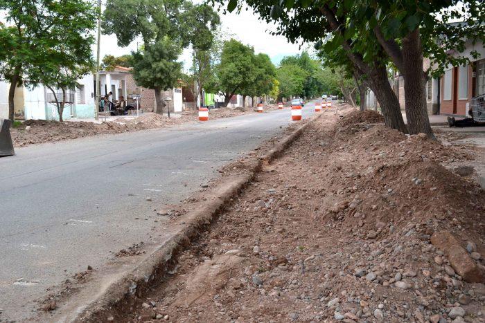 Obra de drenaje - calle Magallanes (1)