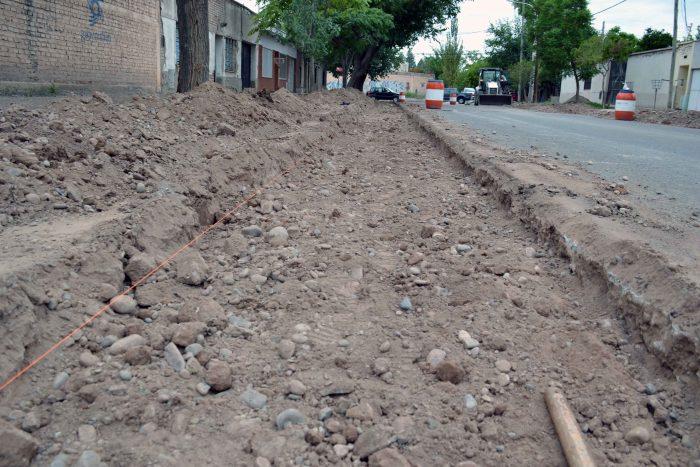Obra de drenaje - calle Magallanes (4)