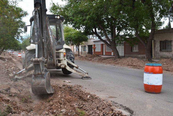 Obra de drenaje - calle Magallanes (5)