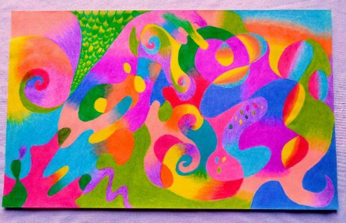 Abstracta colores - Lorena Camargo