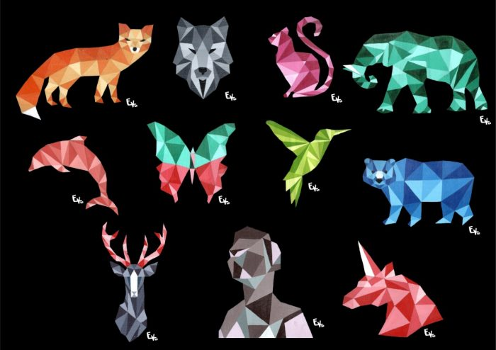 Animales geométricos - Emir Vanella