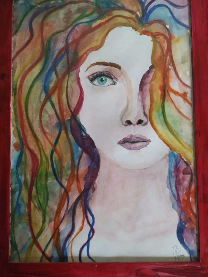 Retrato de una mirada perdida - Victoria Prada Videla