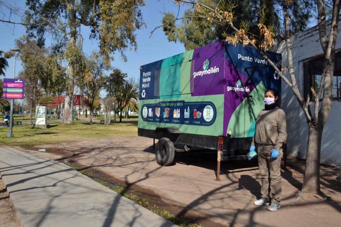 Punto Verde Móvil - Plaza del barrio Unimev