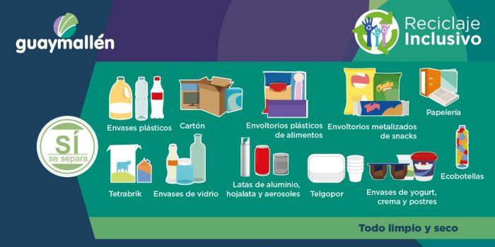 Reciclaje Inclusivo (placa)