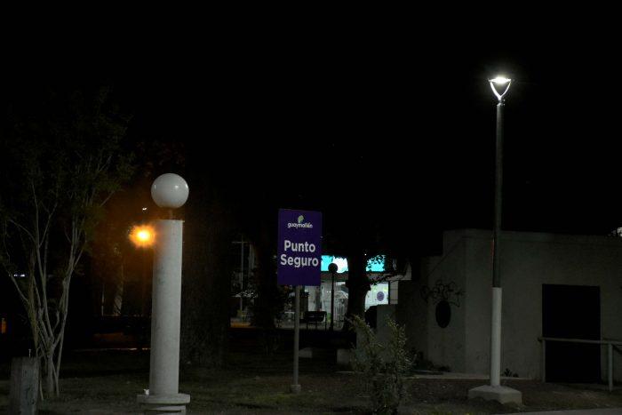 Punto seguro - Plaza José Néstor Lencinas (1)