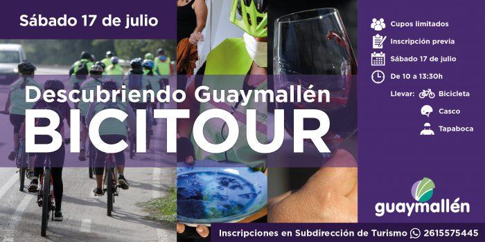 1 Bicitour, descubriendo Guaymallén (placa)