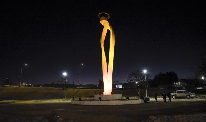 Iluminación Monumento a la Virgen (1)