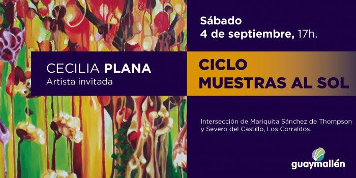 (1) Muestras al Sol- Cecilia Plana (placa)