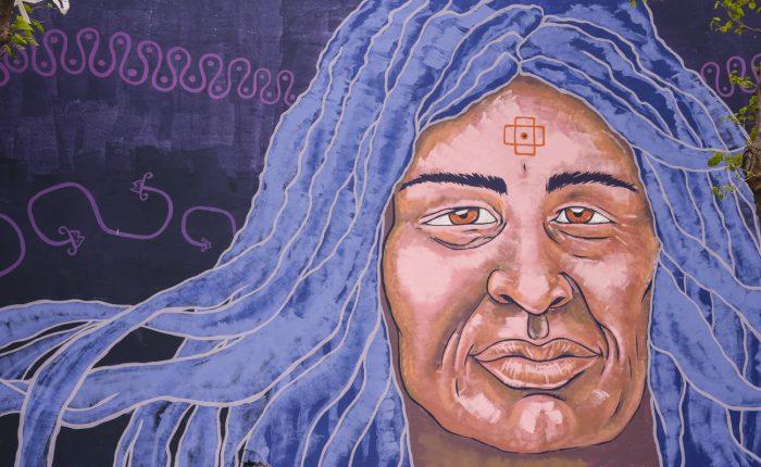 Mural Mujer originaria (2)