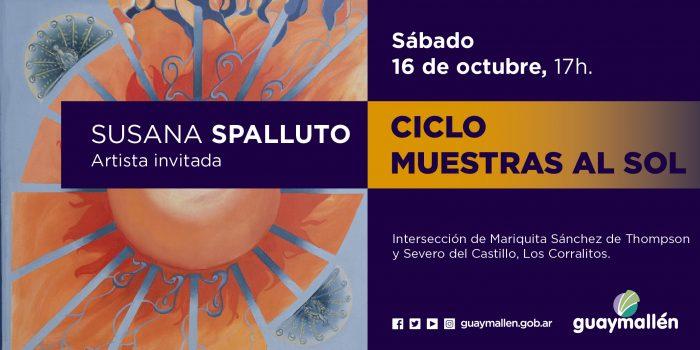 Muestras al sol- Susana Spalluto (placa)